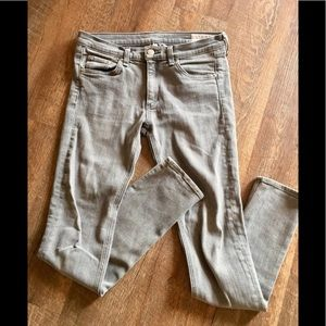 Light Grey Rag & Bone Jeans